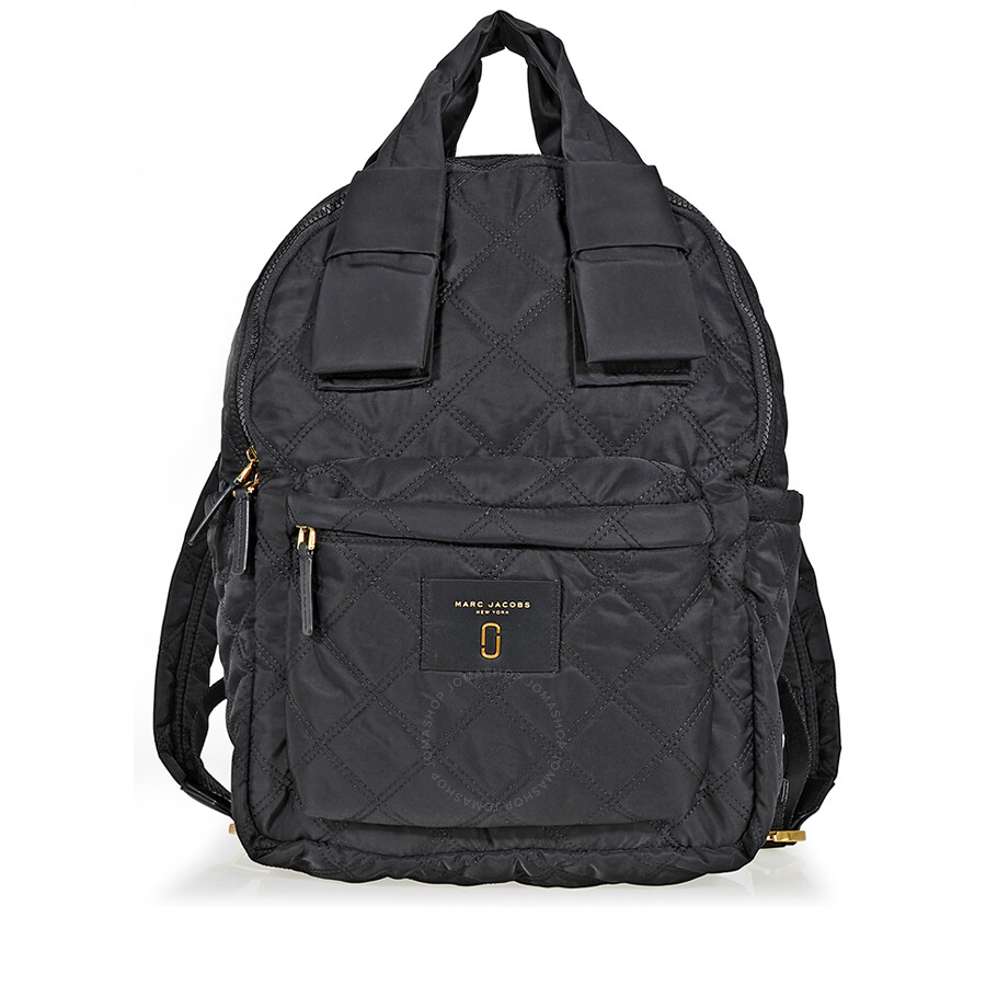 Marc Jacobs Large Nylon Backpack-Black