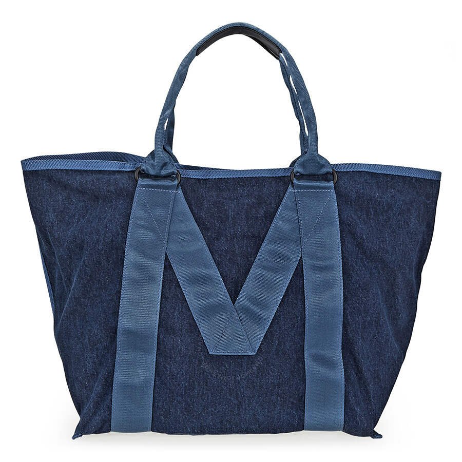Marc Jacobs Logo Tote- Denim