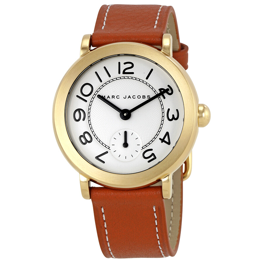 marc jacobs female marc jacobs riley silver dial ladies watch mj1574