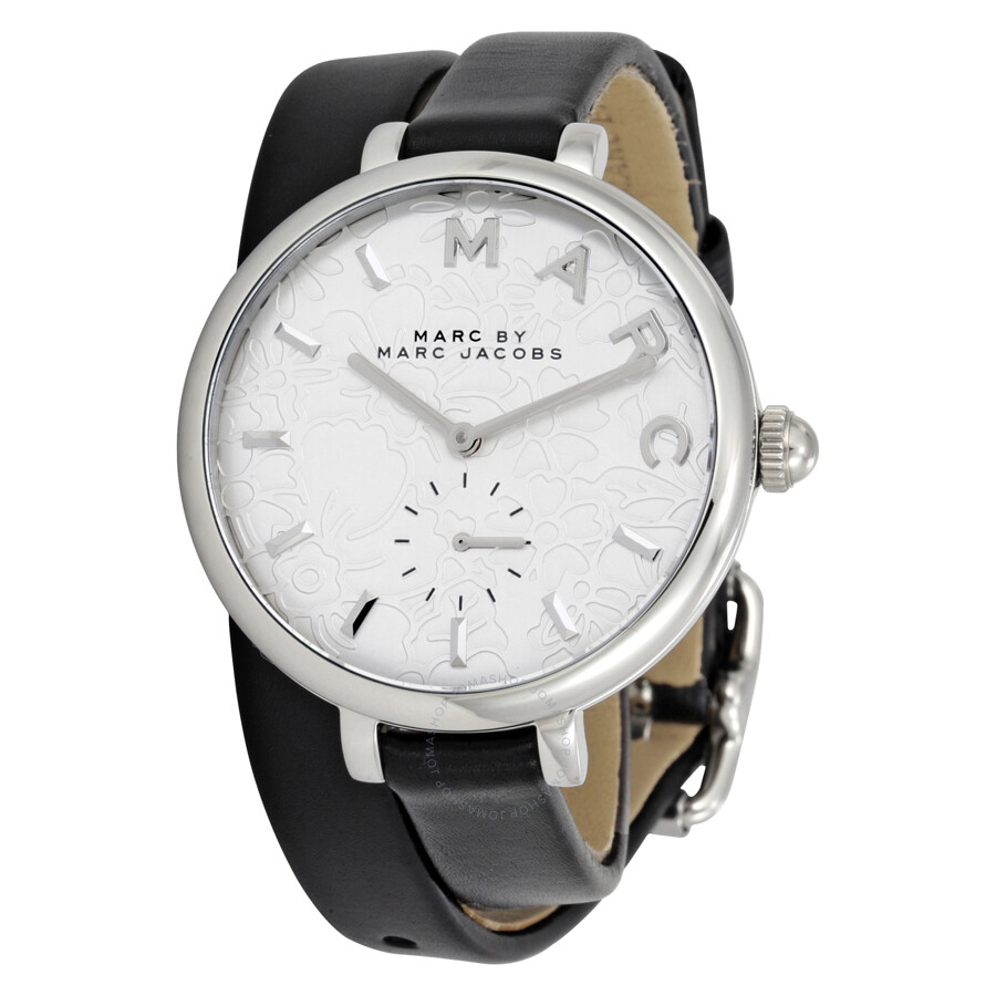 marc by marc jacobs female 45900 marc jacobs sally silver dial ladies watch mj1419