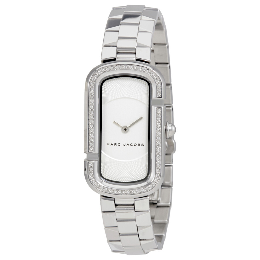 marc jacobs female marc jacobs the jacobs white dial ladies stainless steel watch mj3531
