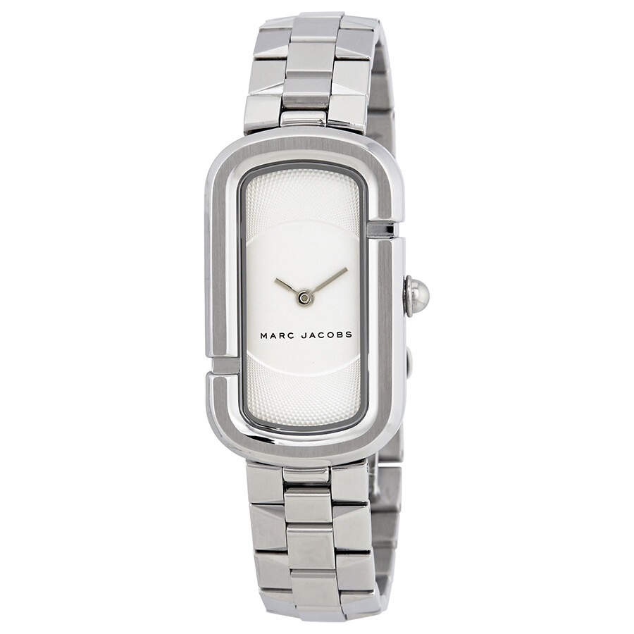 marc jacobs female marc jacobs the jacobs white dial ladies watch mj3500