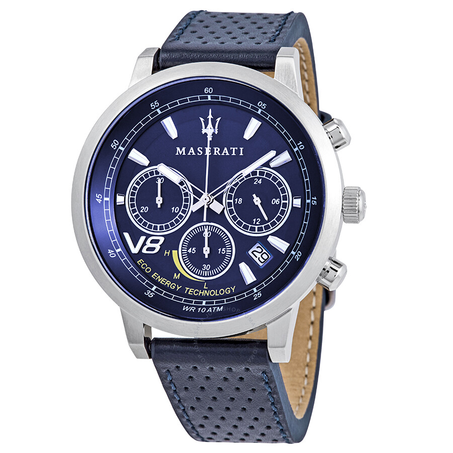 Maserati Granturismo Chronograph Blue Dial Mens Watch R8871134002