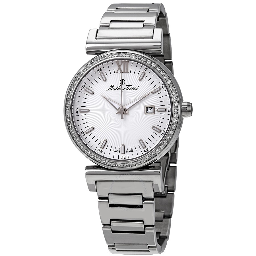 Mathey-Tissot Elegance Diamond White Dial Watch H410AQI