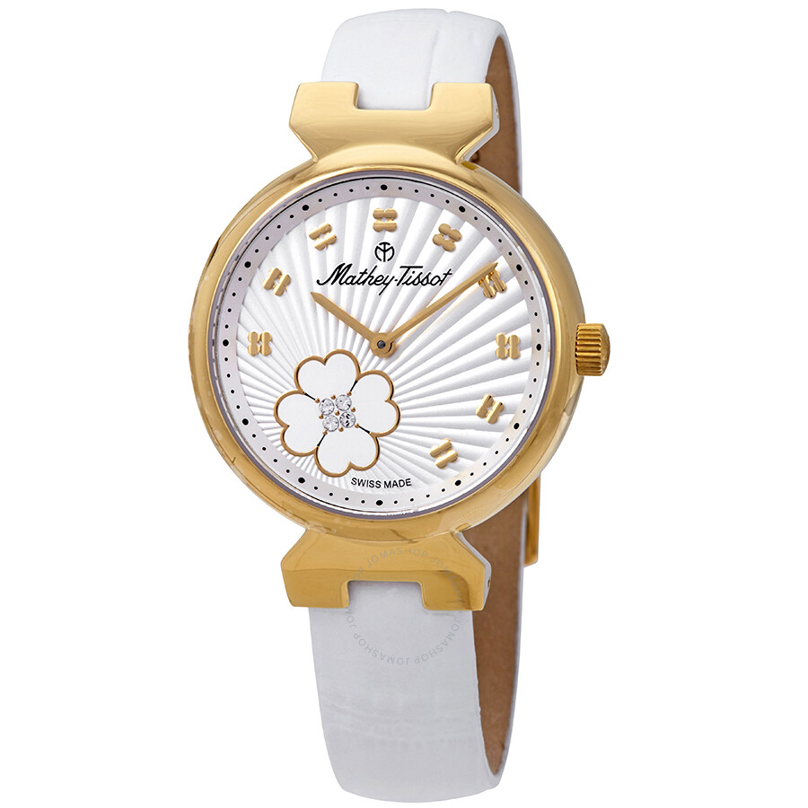 Mathey-Tissot Fiore Silver Dial Ladies Watch D1089PLYI