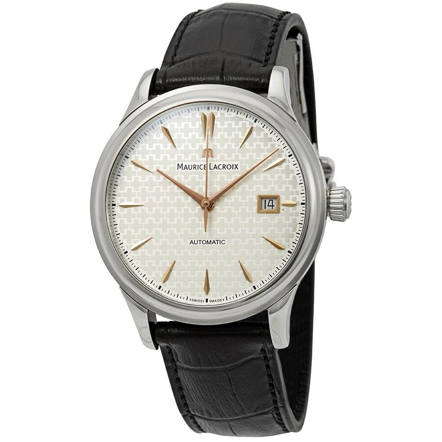 Maurice lacroix les classiques automatic men 39 s watch lc6098 ss001 132 les classiques maurice for Maurice lacroix watches