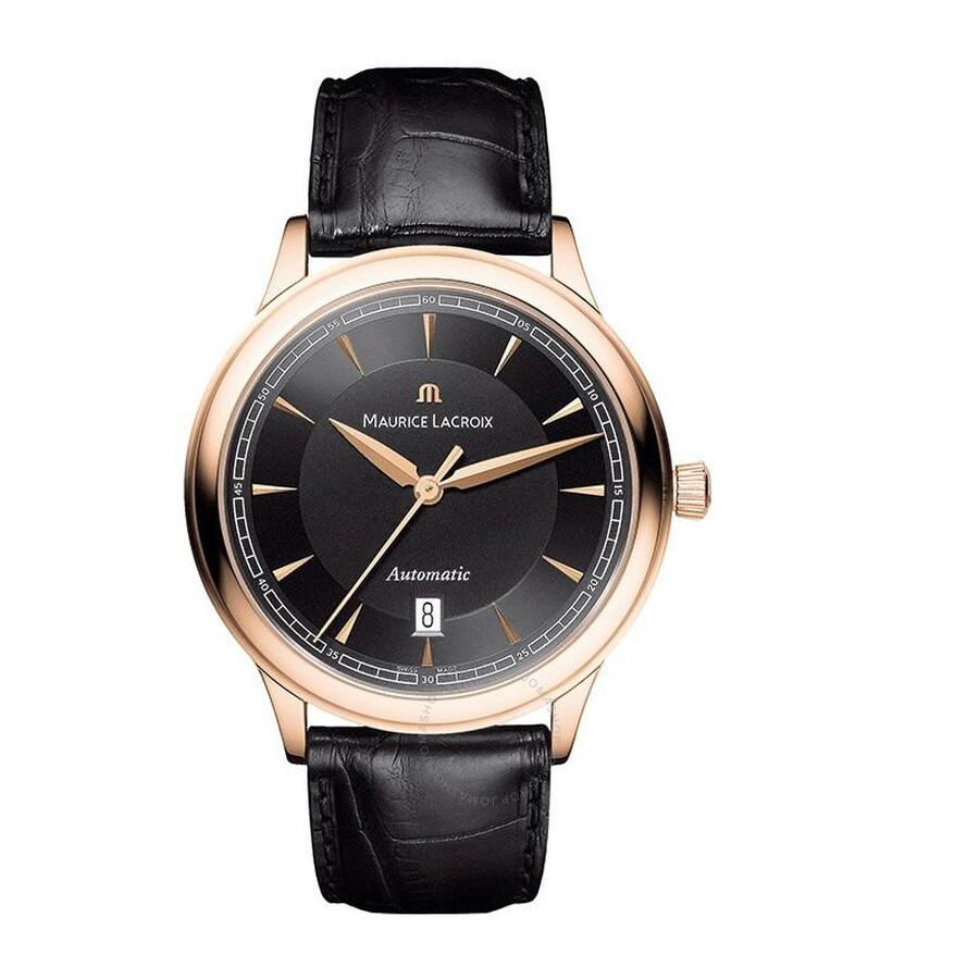 Maurice Lacroix Les Classiques Black Dial Mens Automatic Watch ML-LC6008-PG101-330