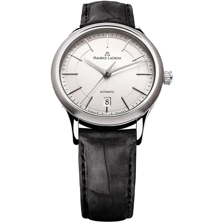 Maurice Lacroix Les Classiques Date Gents Automatique Silver Dial Automatic Mens Watch
