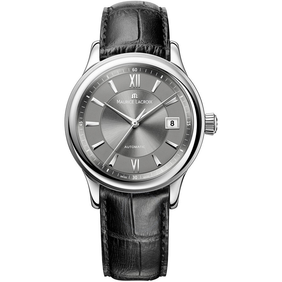 Maurice Lacroix Les Classiques Date Grey Dial Automatic Mens Watch LC6027-SS001-311
