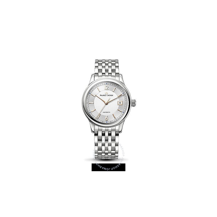 Maurice Lacroix Les Classiques Date Silver Dial Mens Watch LC6027-SS002-121