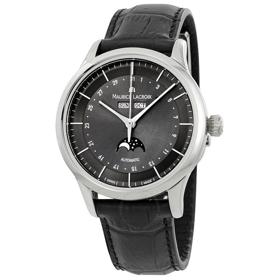 Maurice Lacroix Les Classiques Phase de Lune Automatic Mens Watch LC6068-SS001-331