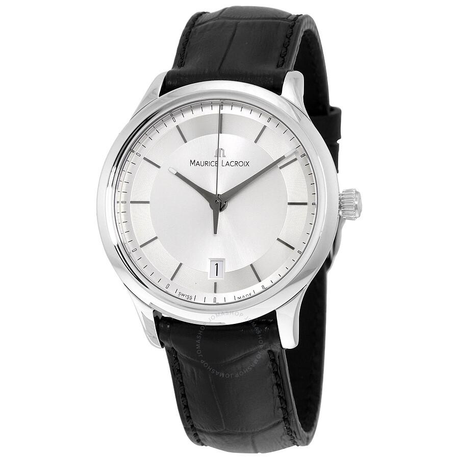 Maurice lacroix les classiques silver dial men 39 s watch ml lc1237 ss001 131 les classiques for Maurice lacroix watches
