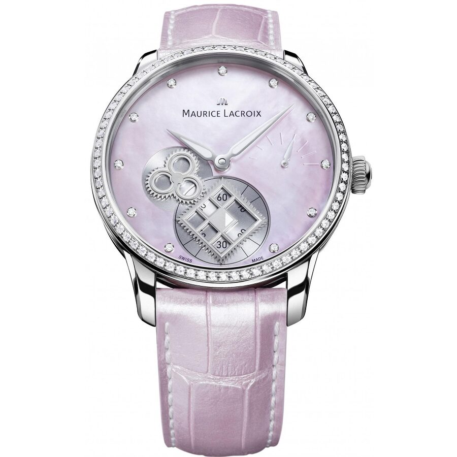 Maurice Lacroix Masterpiece Automatic Diamond Ladies Watch MP7158-SD501-570