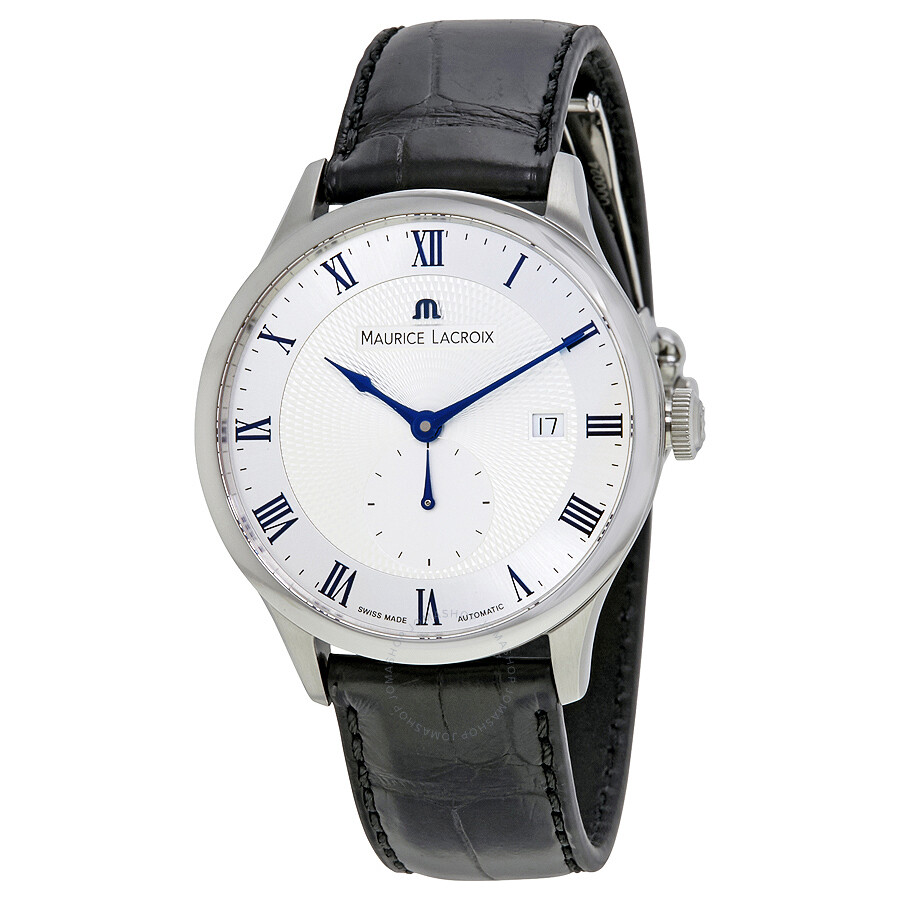 Maurice lacroix masterpiece automatic silver dial men 39 s watch mp6907 ss001 110 masterpiece for Maurice lacroix watches