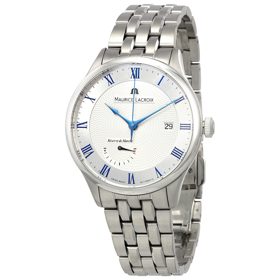 Maurice Lacroix Masterpiece Silver Dial Mens Watch MP6807-SS002-110