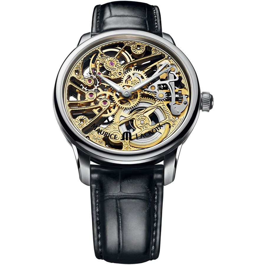 Maurice Lacroix Masterpiece Squelette Skeleton Dial Mens Watch MP7208-SS001-001