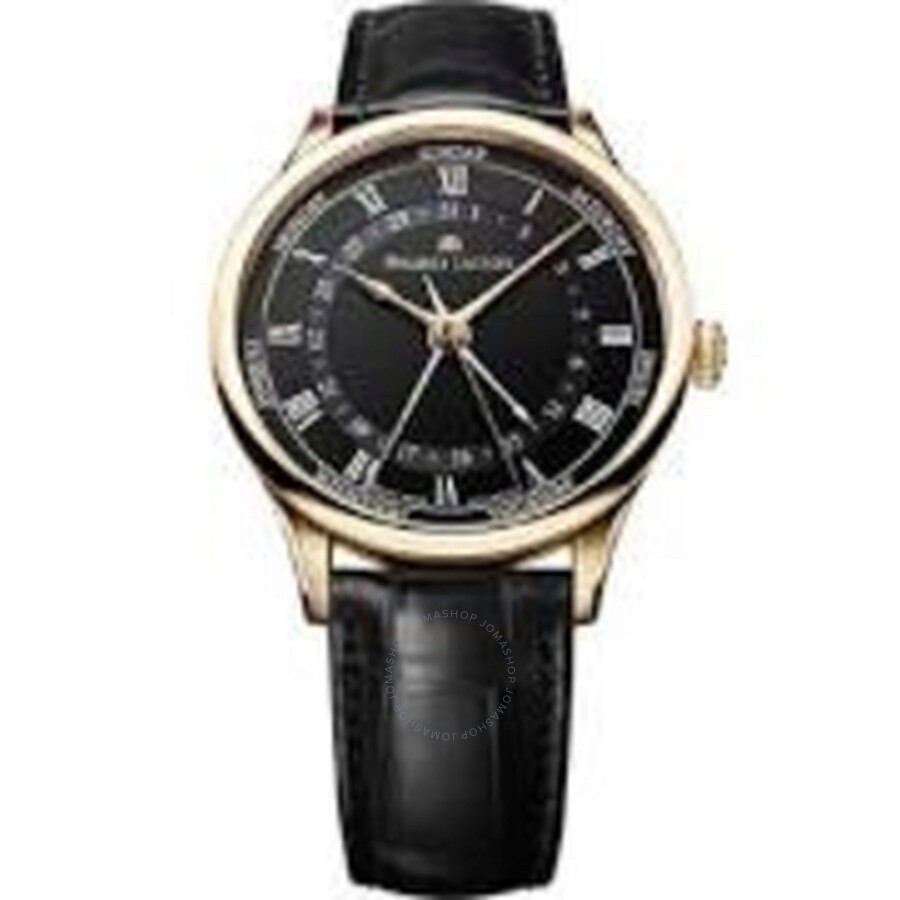 Maurice Lacroix Masterpiece Tradition Black Dial Mens Watch MP6507-PG101-310