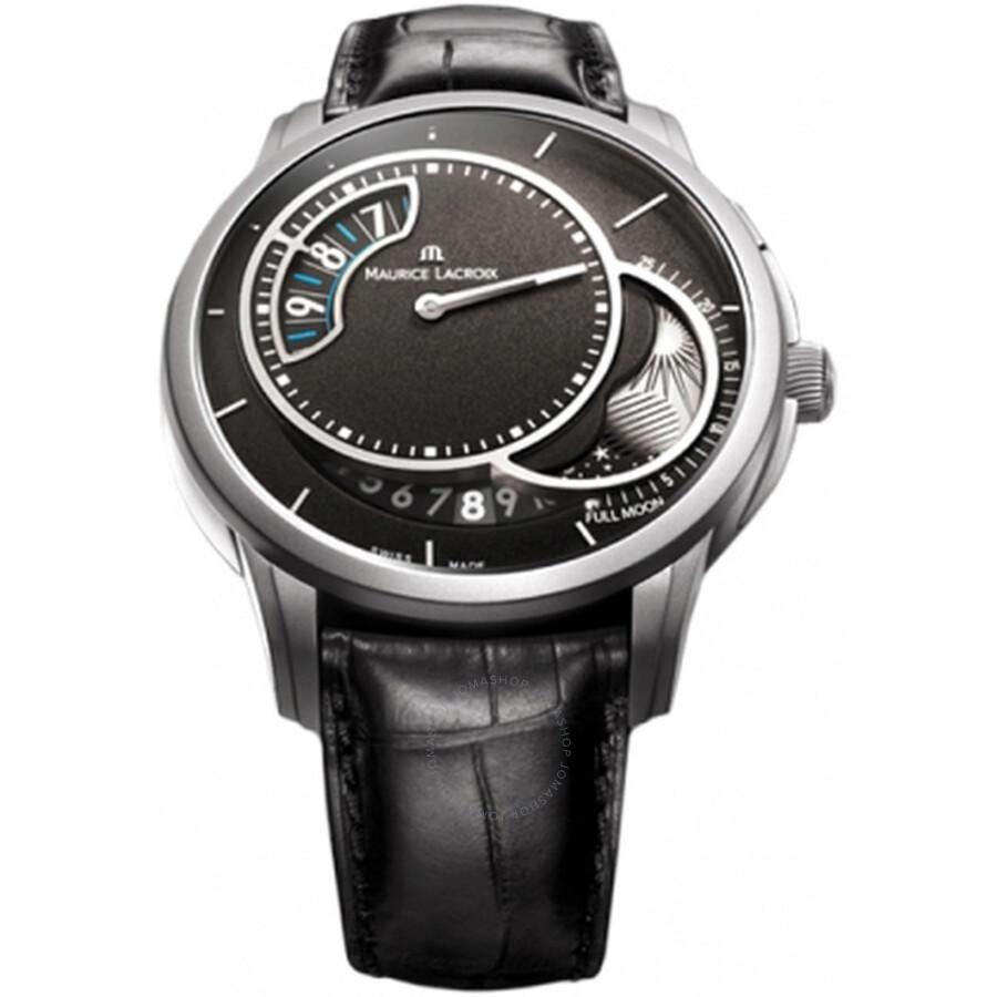 Maurice Lacroix Pontos Automatic Black Dial Mens Watch PT6218-TT031-330