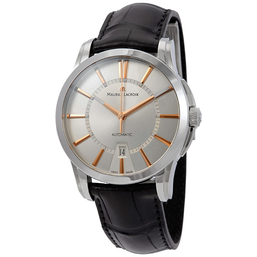 Maurice Lacroix Pontos Automatic Silver Dial Mens Watch PT6148-SS001-131