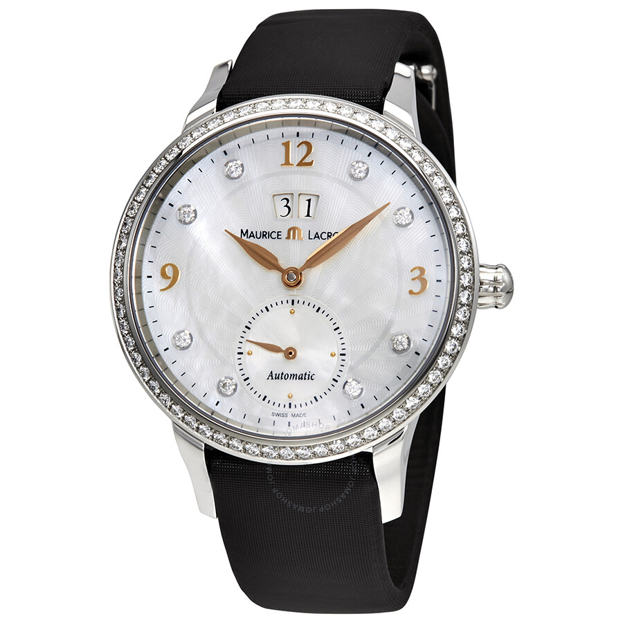 Maurice lacroix starside magic seconds mother of pearl dial automatic ladies watch sd6207 sd501 for Maurice lacroix watches