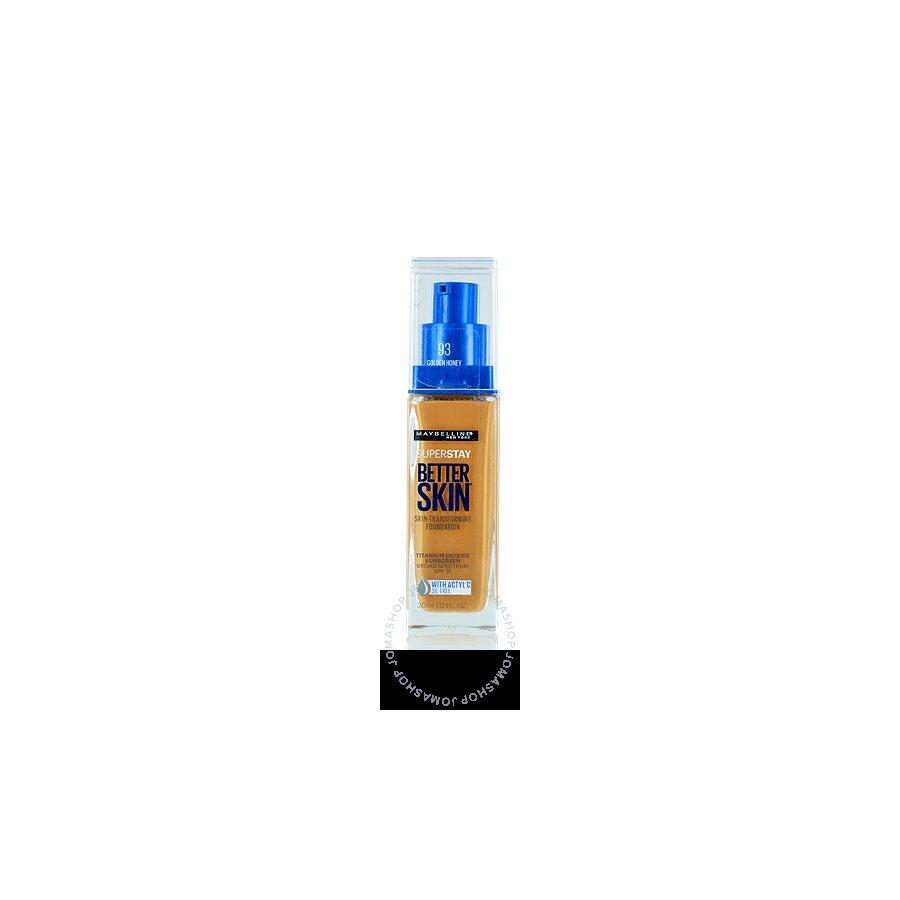 Maybelline / Super Stay Better Skin Foundation (93) Golden Honey 1.0 oz