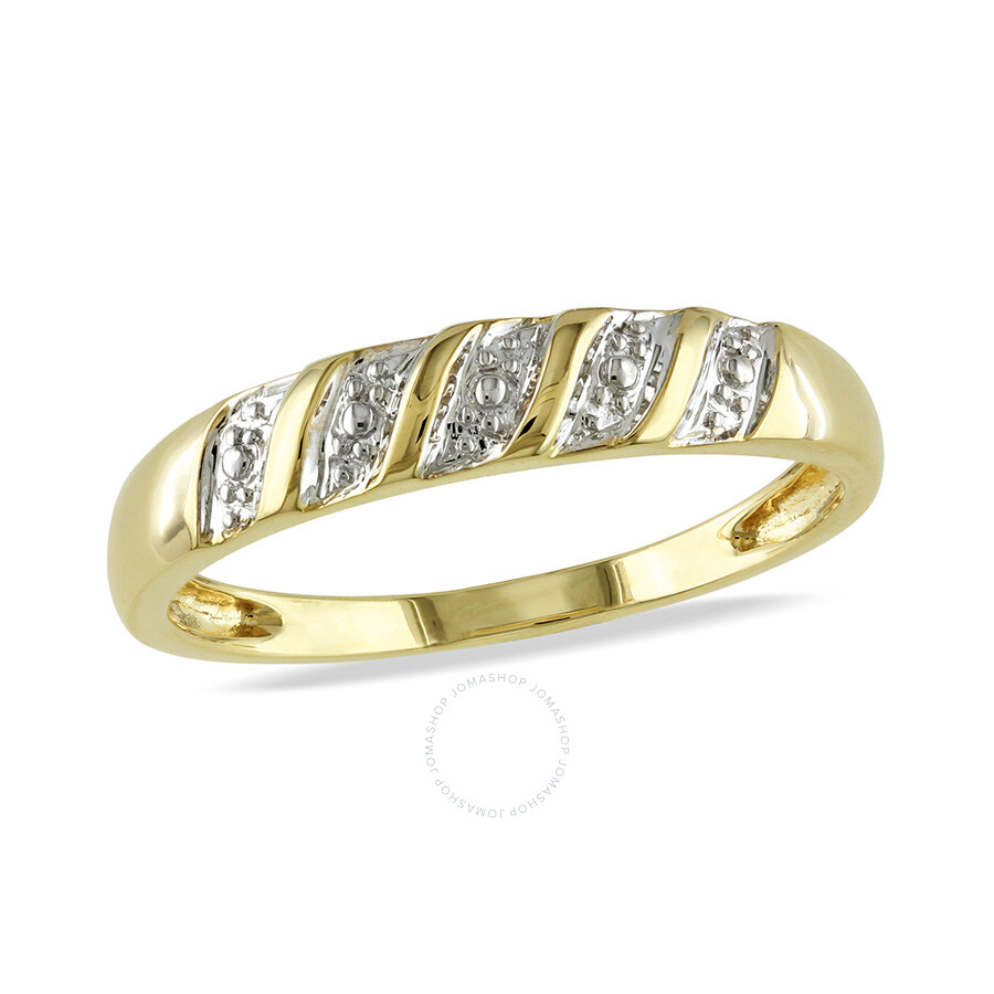 Mens Ring  10k Yellow Gold Size 6