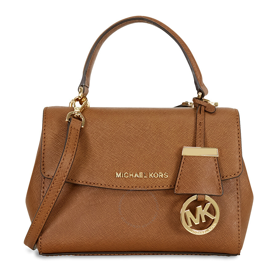 100779f08559 ... sale michael kors ava extra small saffiano leather satchel luggage  6a713 ee7c2