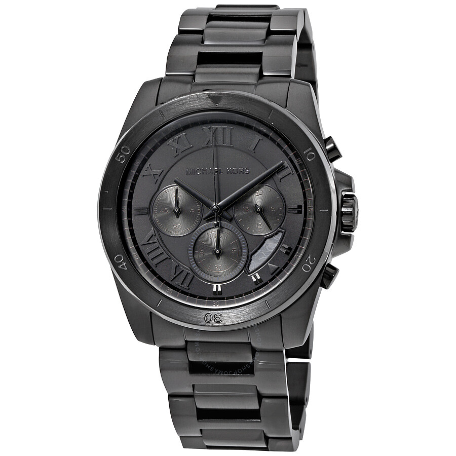 michael kors male michael kors brecken chronograph mens watch mk8482