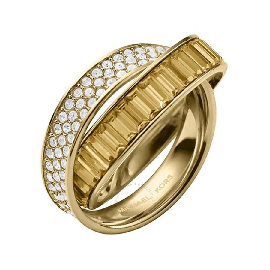 michael kors michael kors crossover ring