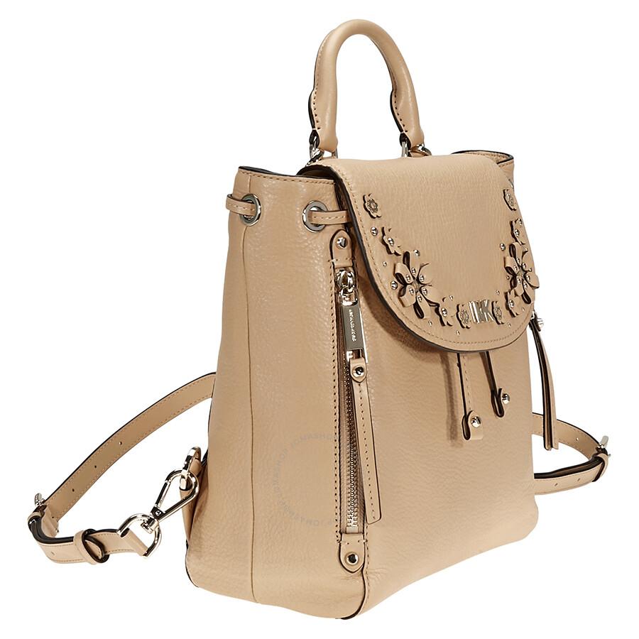 8da1a6c5228da2 ... germany michael kors evie small flower studded backpack butternut a0111  81064 ...