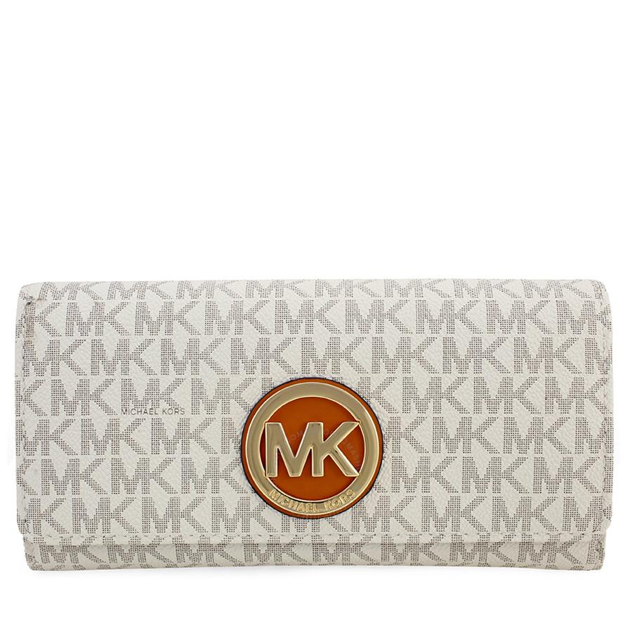 a3b1e86bd66642 ... where to buy michael kors fulton carryall wallet vanilla 7d6bc f3333