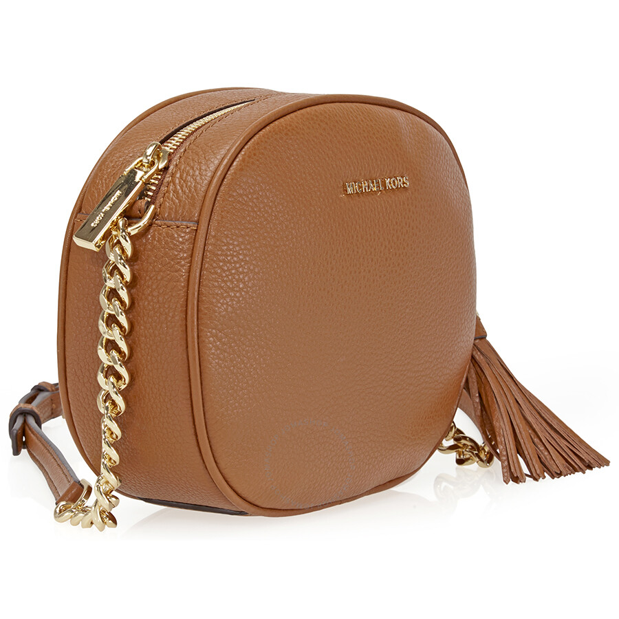 fa0c22a3b203 ... official store michael kors ginny medium crossbody bag luggage ea6d8  e84f3