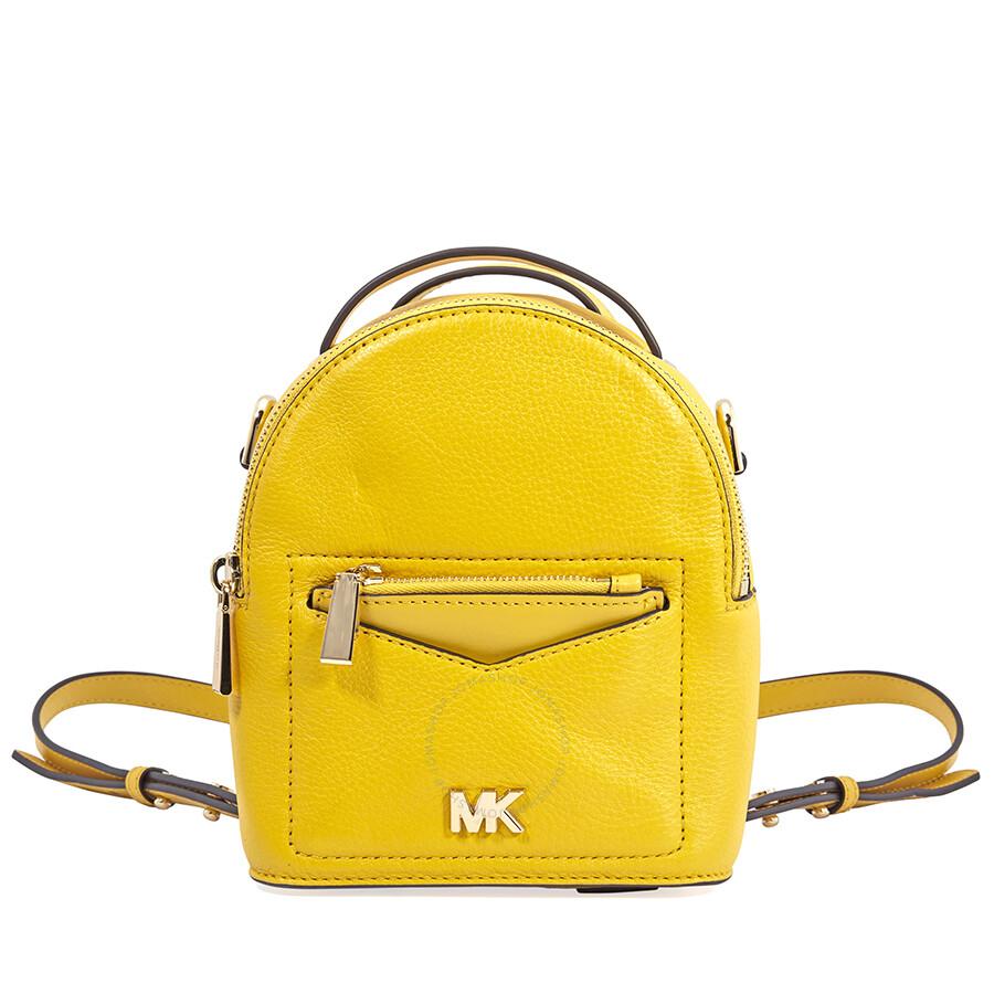 ea94241a34f8 ... best price michael kors jessa xs convertible backpack sunflower 14fec  25d59