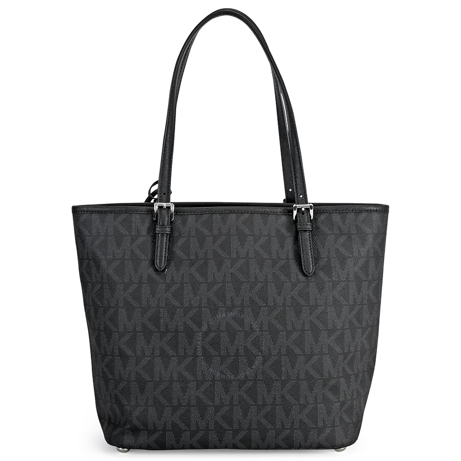 michael kors signature handbags black