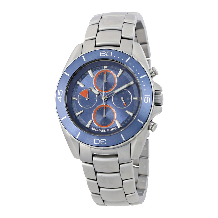 michael kors male michael kors jetmaster chronograph mens watch mk8484