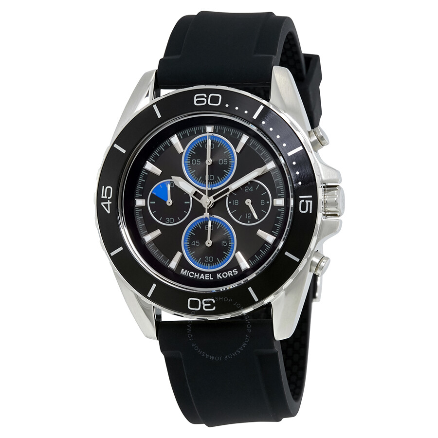 michael kors male michael kors jetmaster chronograph mens watch mk8485