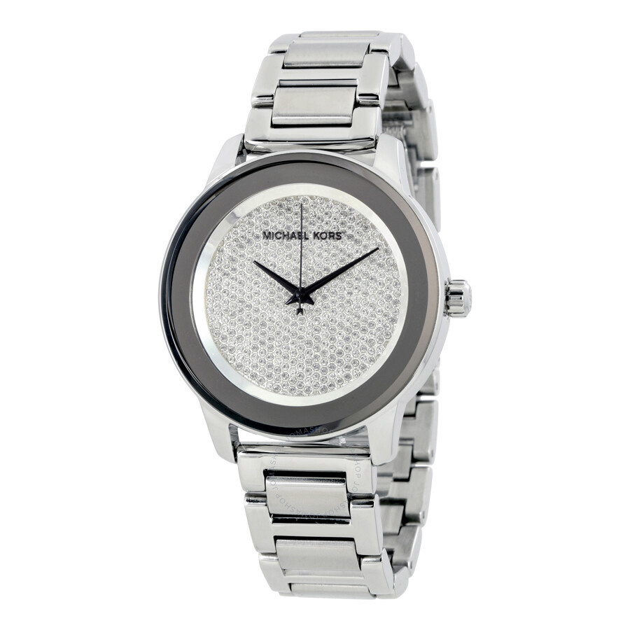 michael kors male michael kors kinley diamond pave dial mens watch mk5996
