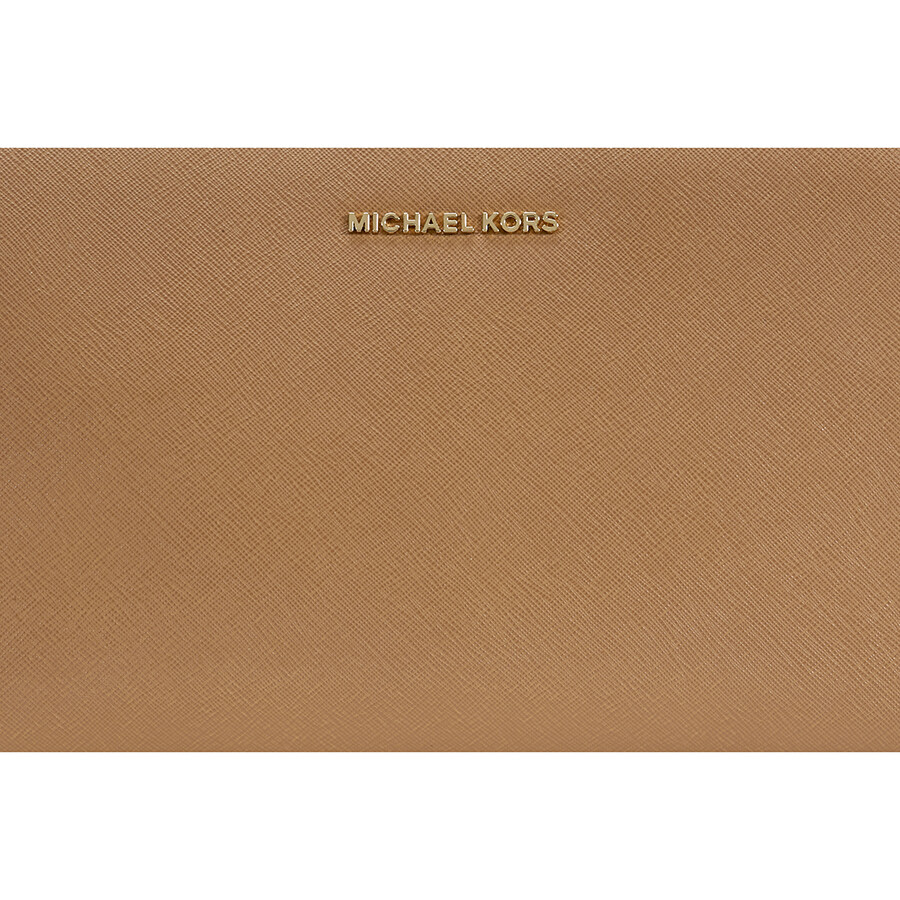 61919d4de065 ... where to buy michael kors large jet set crossbody clutch acorn 4cb6b  4c86d