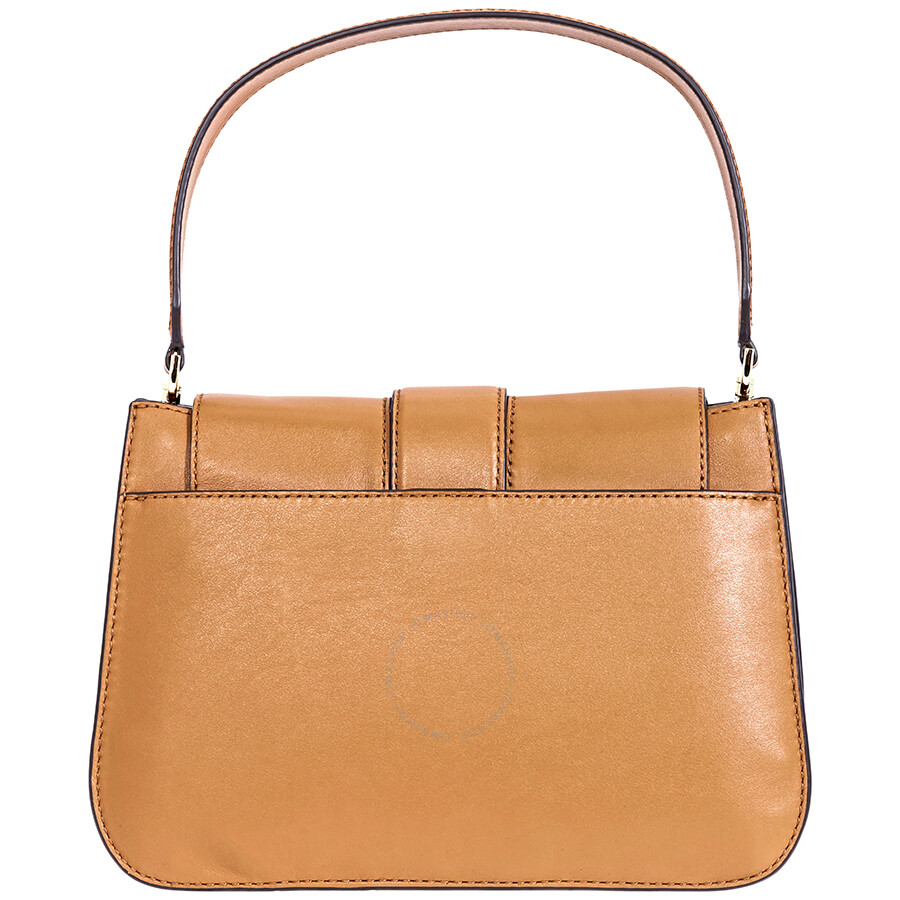 569b619c1bc86 ... release date michael kors leather shoulder bag acorn 73b60 2ec29