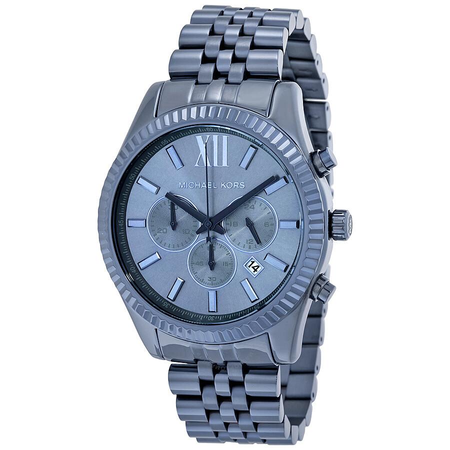 michael kors male michael kors lexington chronograph mens watch mk8480