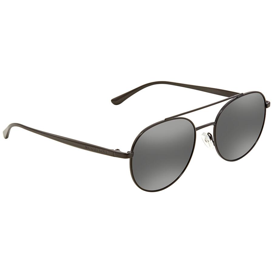 9cf61f0f8d89 ... Womens Black Frame Genuine Eyeglasses Michael Kors Lon Gunmetal Mirror  Aviator Ladies Sunglasses MK1021-11696G-53 .