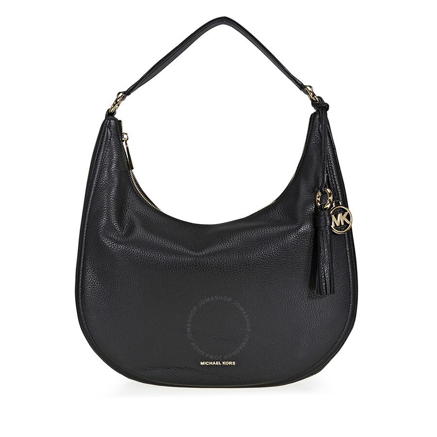 Michael Kors Lydia Large Shoulder Bag Black