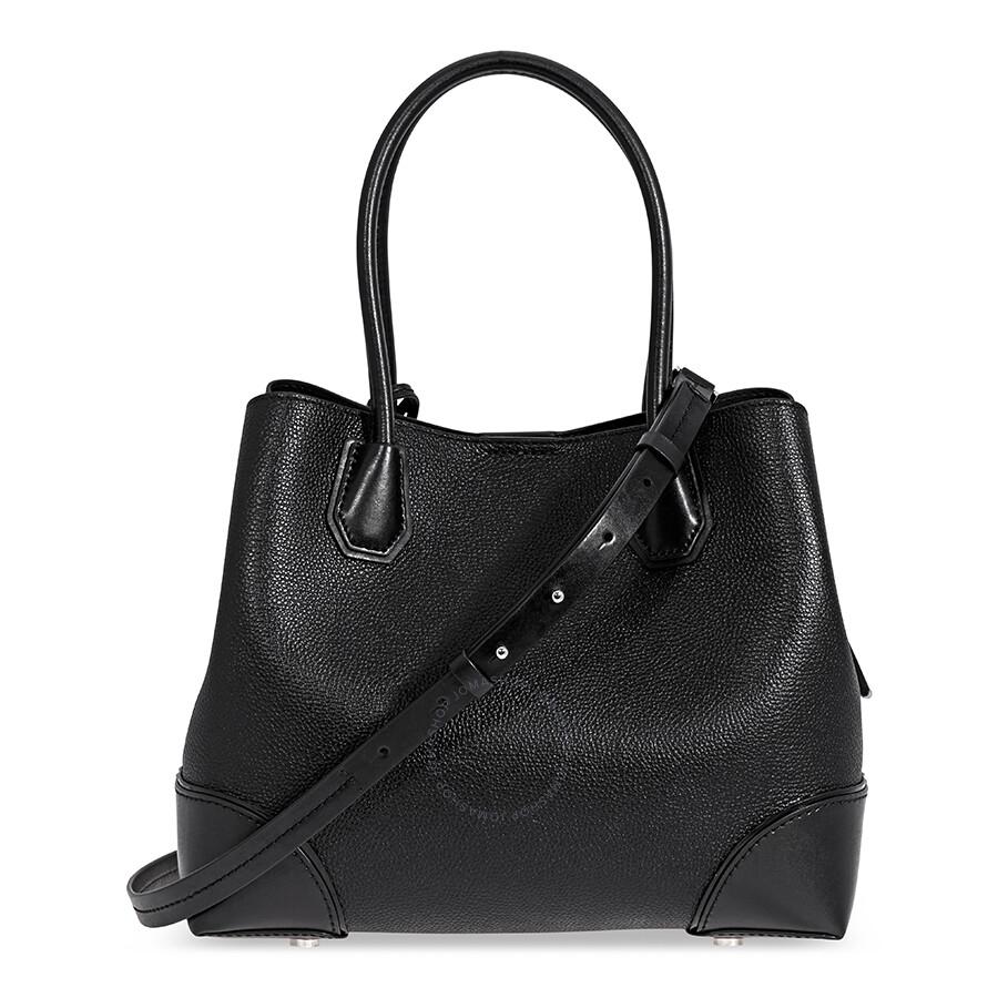 michael kors mercer gallery medium leather satchel black. Black Bedroom Furniture Sets. Home Design Ideas