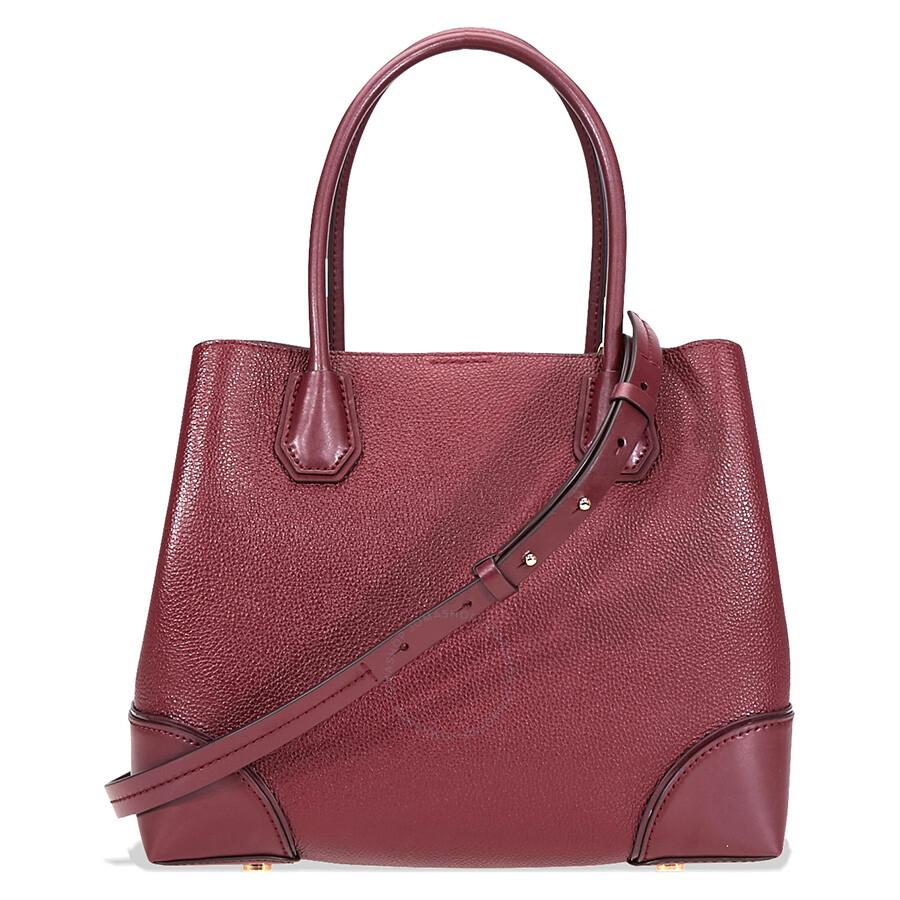michael kors mercer gallery medium leather satchel. Black Bedroom Furniture Sets. Home Design Ideas
