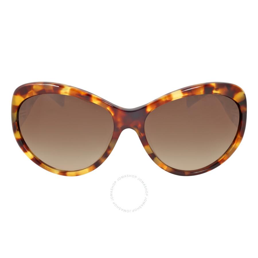michael kors michael kors miranda waikiki tortoisedark brown gradient sunglasses mk2002qf 302813 6016