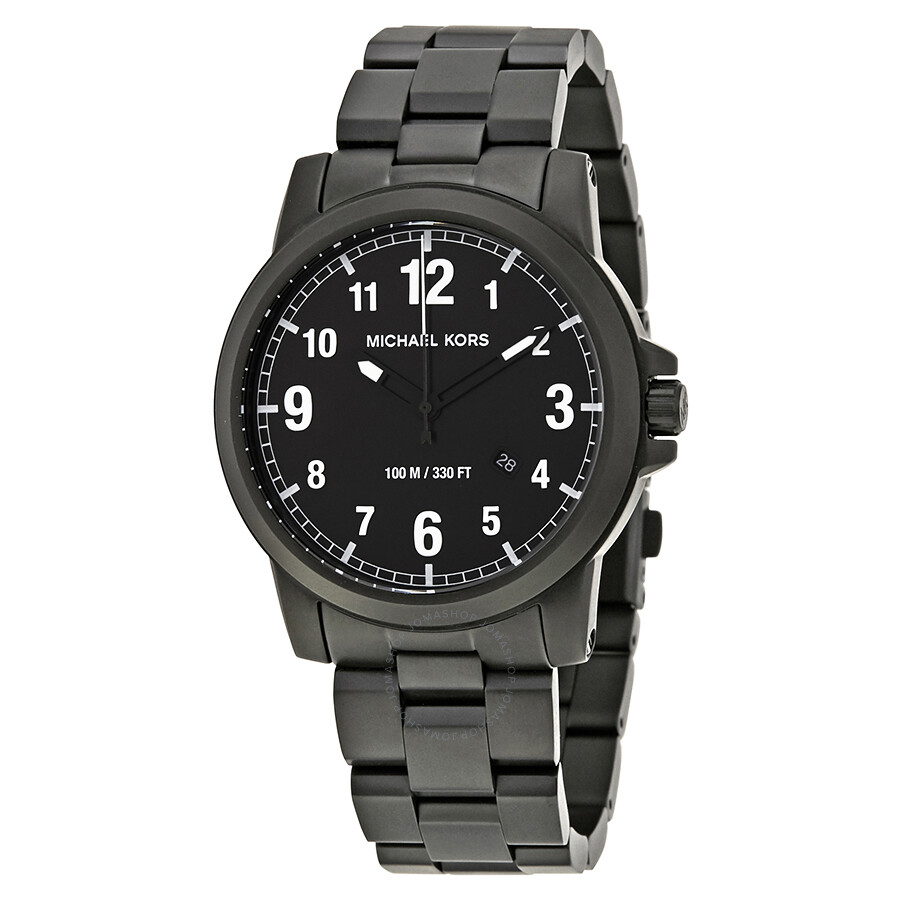Michael Kors Paxton Black Dial Mens Watch MK8532