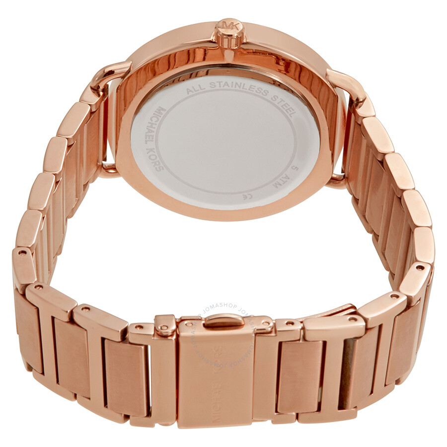 Michael Kors Portia Rose Gold-tone Ladies Watch
