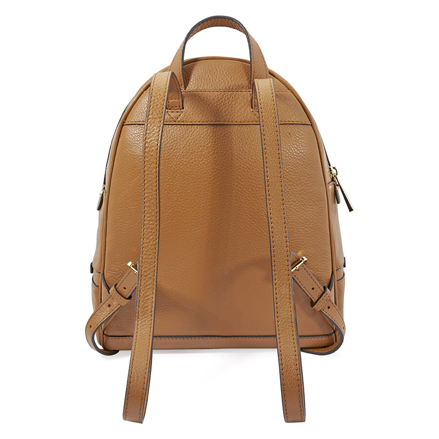 27fabd399038 ... usa michael kors rhea medium leather backpack acorn 51a7e b7cea
