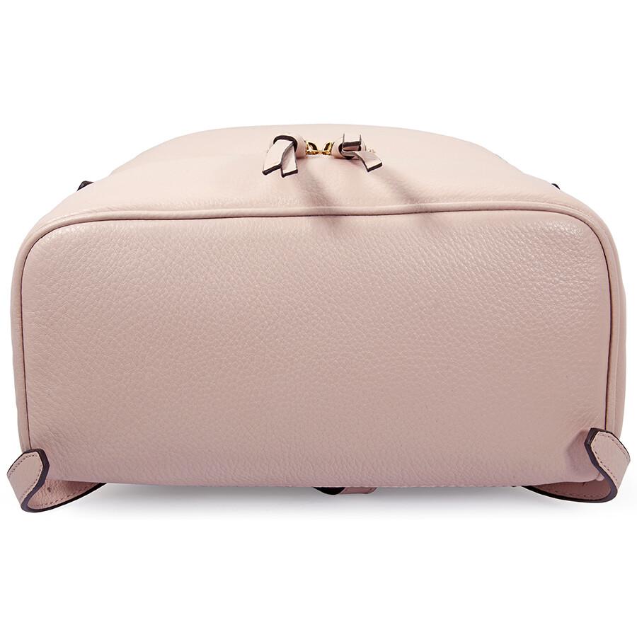 79a3c346a641 ... promo code michael kors rhea medium leather backpack soft pink b3501  6de97