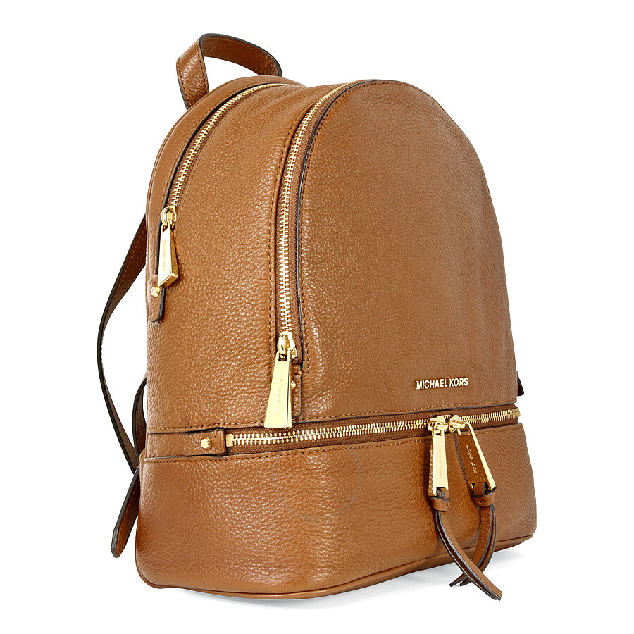 4866da3216d4 ... ireland michael kors rhea small leather backpack luggage edfb7 710c4